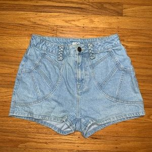BDG Urban Outfitters shorts with braided details